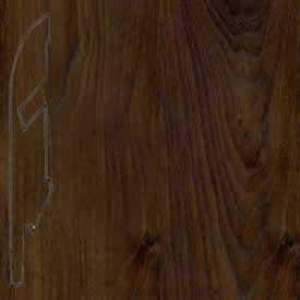Плинтус доска дуба белого затемненная 1496