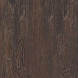 Плинтус доска дуба темного старинного 1389 (039)