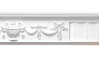 Плинтус потолочный с рисунком A116