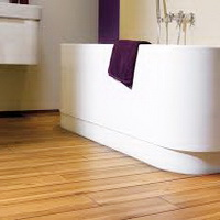 Ламинат для ванной
