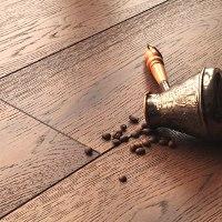 Паркетная доска кофе