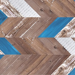 RCork Digital PHOTOCORK chevron PB-FL Chevron azul замковое