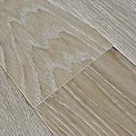 Массивная доска Gran Parte Дуб Griggio Белая вена Браш 18х127мм