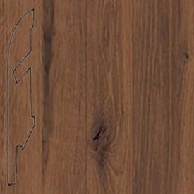 Плинтус Дуб состаренный темный усовершенствованный 1234 (030)