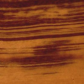 Плинтус шпонированный Тигровое дерево