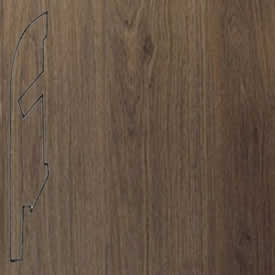 Плинтус Дуб тёмно-серый 1305