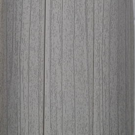 Плинтус пластиковый с кабель-каналом Ясень Серый 253