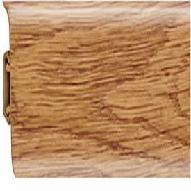 Плинтус Дуб янтарный 124