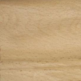 Плинтус из массива бука галтель большая лодочка