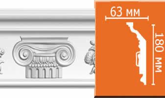 Плинтус потолочный с рисунком A118