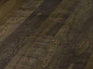 Timberwise Однополосная Дуб винтаж Эбен Черный брашированный 185 мм